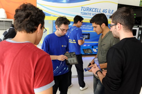 Şanlıurfa Geleceğin Hızı 4G'yi, Turkcell'le Yaşadı
