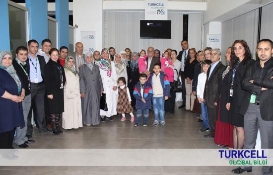 Turkcell Global Bilgi'nin Şanlıurfa lokasyonunda Aileler Buluştu