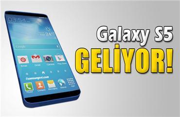 rn Galaxy S5 geliyor
