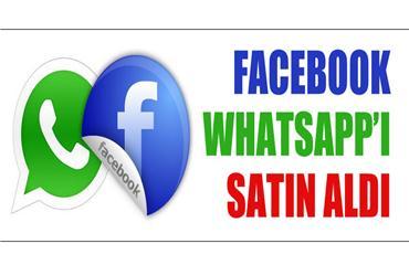 rn Facebook, WhatsAppı satın alıyor