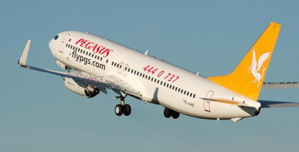 Pegasus'tan Şanlıurfa'ya yeni uçuş seferi