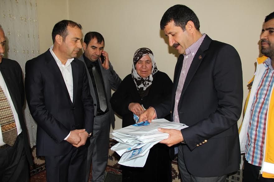 Eyyübiye Belediyesi, evde bakım hizmeti başlattı