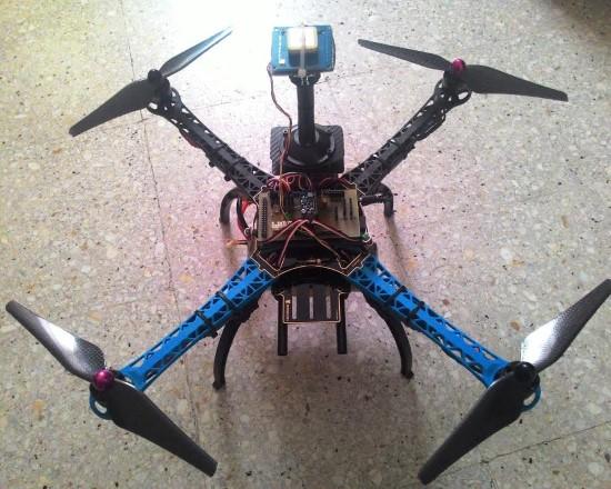 İnsansız hava aracı ürettiler