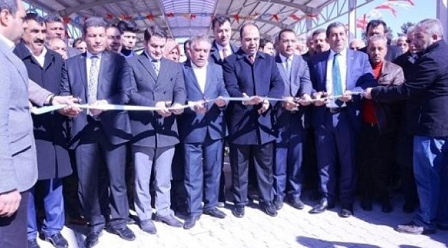 Ceylanpınar'da Spor Kompleksi törenle açıldı