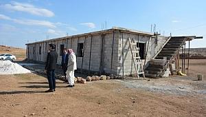 Göçebelere kültür evi yapılıyor
