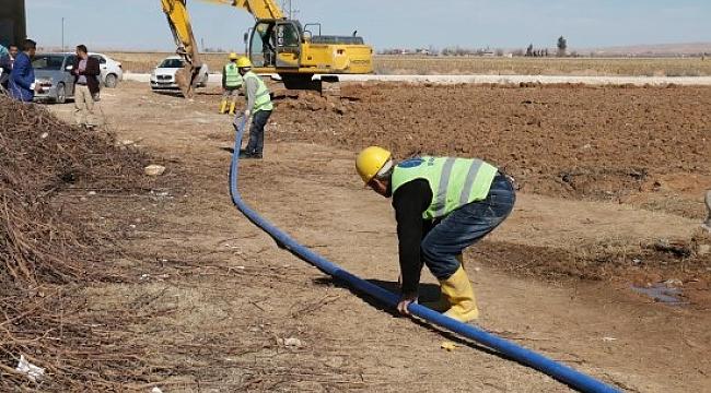 Harran kırsalı içme suyuna kavuşuyor
