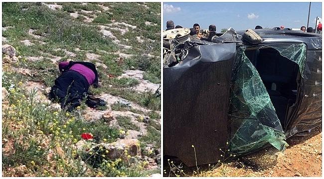 Urfa'da araçtan fırlayan kadın hayatını kaybetti