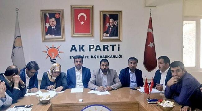 AK Parti Grup toplantısı yapıldı.
