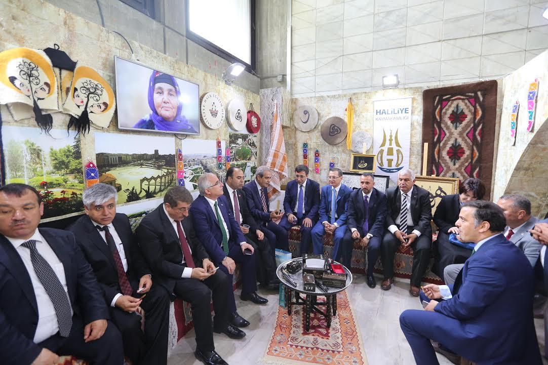 Haliliye, Ankara'da tanıtılıyor