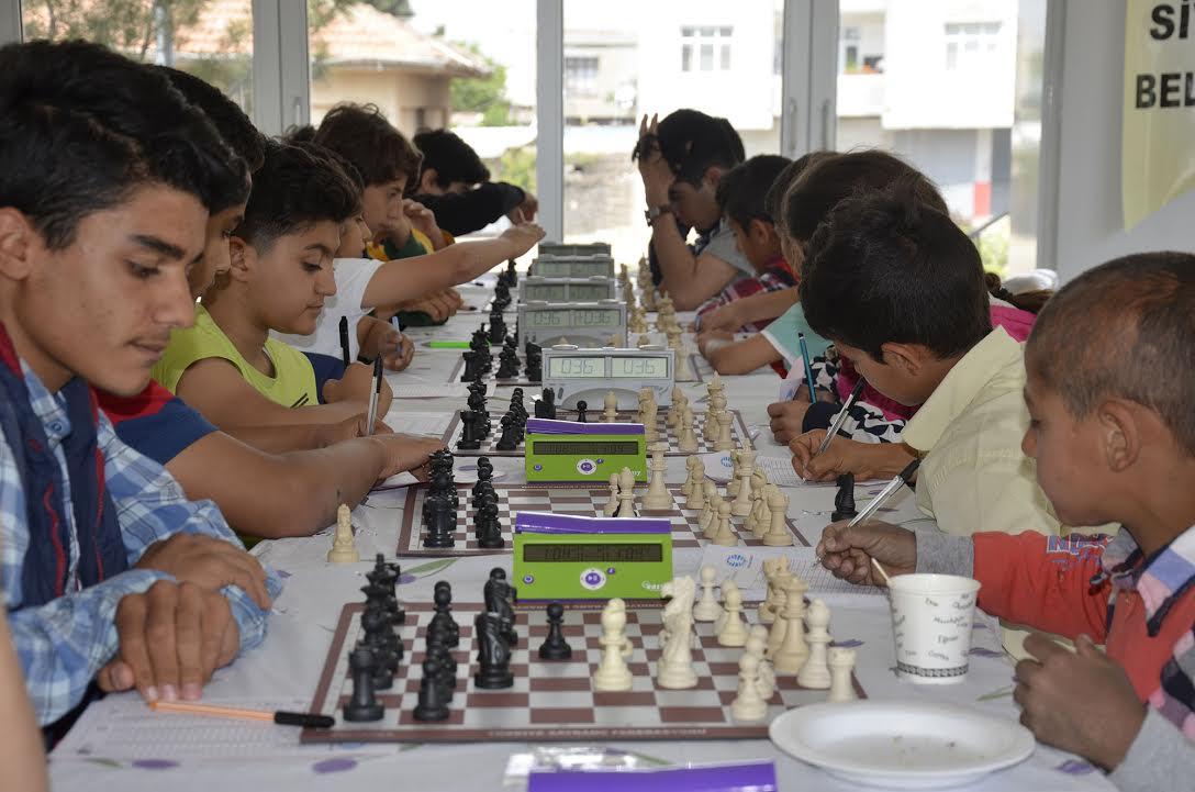 Siverek Belediyesi Geleneksel Satranç Turnuvası tamamlandı