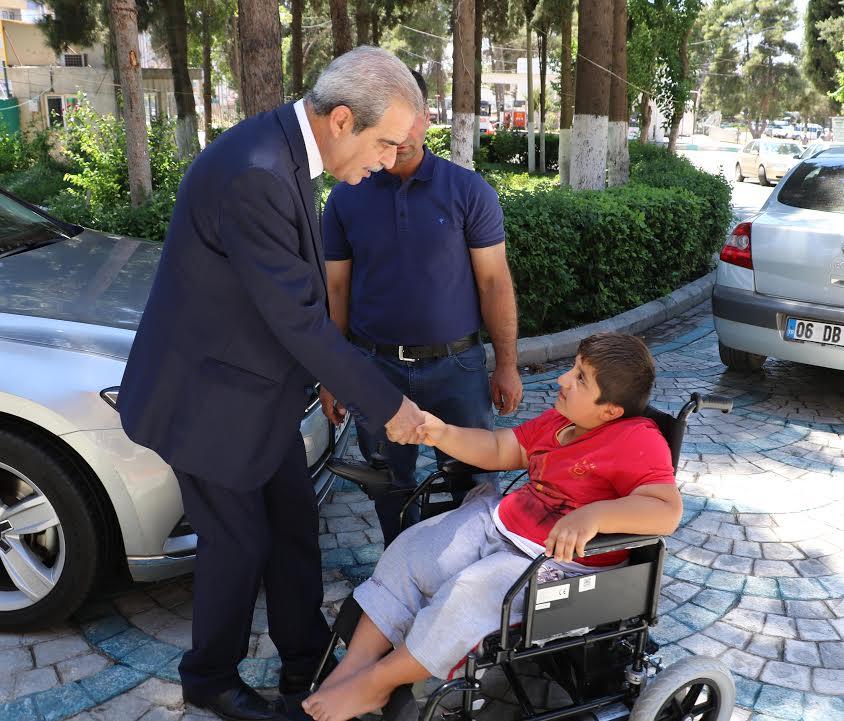 11 yaşındaki Mehmet'in isteği gerçekleşti