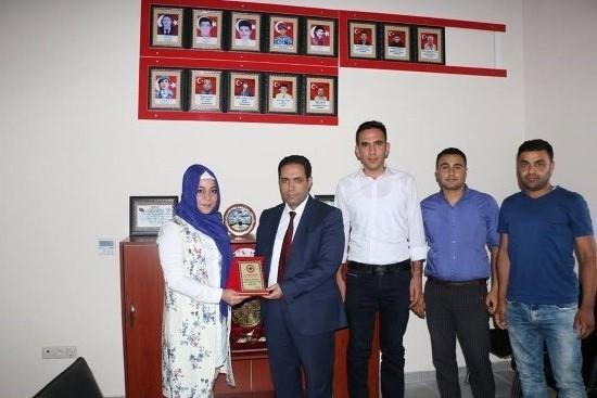 ASP İl Müdürü'nden Viranşehir Şehit ailelere ziyaret