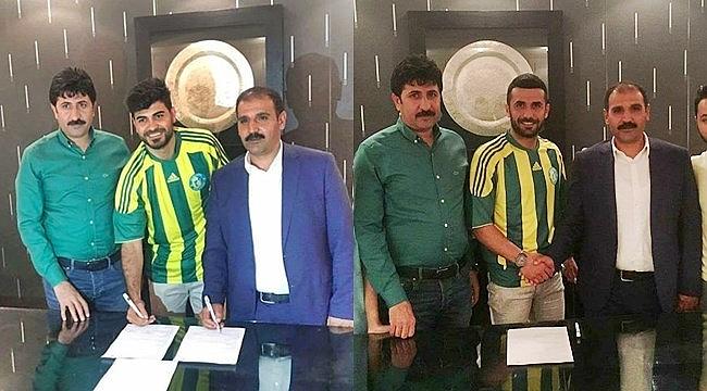 Şanlıurfaspor'da iki transfer birden