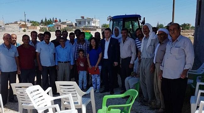 Suruç'ta çiftçilere eğitim