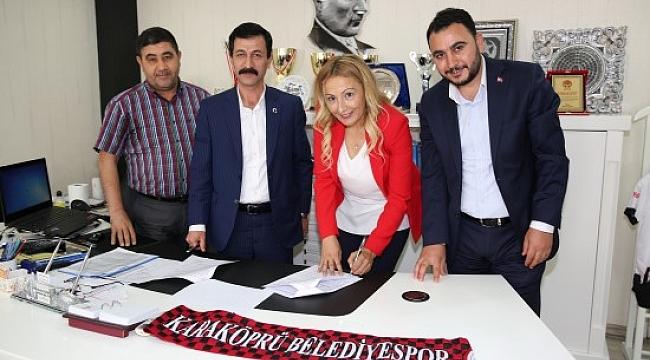 Karaköprü'de sponsorluk anlaşması sağlandı