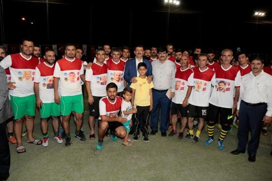Spor; barış, kardeşlik ve dostluk demektir