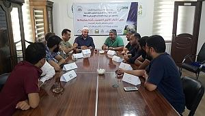 Suriyelilere futbol turnuvası