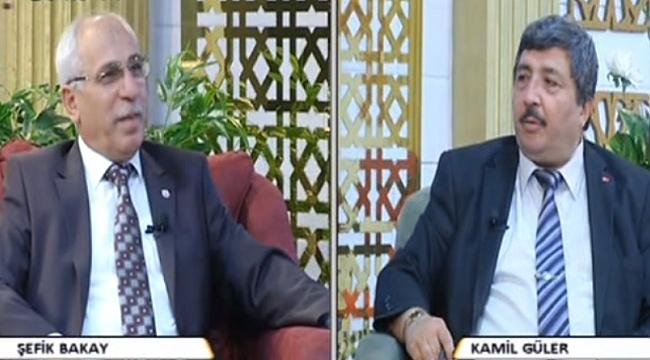 Bakay Duru Tv'de Güler'in konuğu oldu