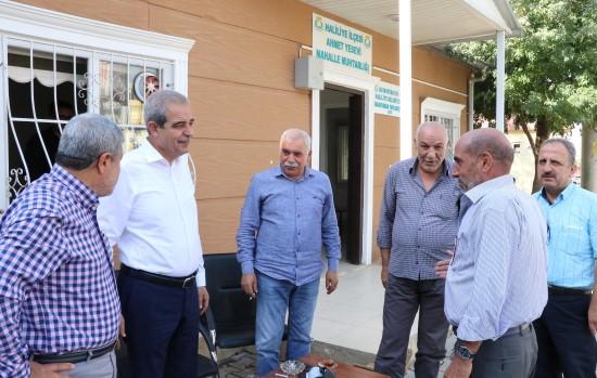 Demirkol, Ahmet Yesevi mahallesinde incelemelerde bulundu