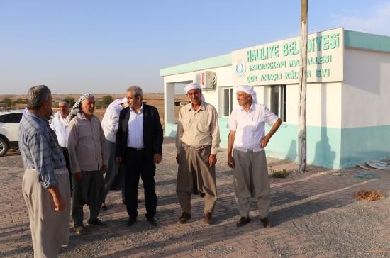 Demirkol, kırsal mahallelerde incelemelerde bulundu