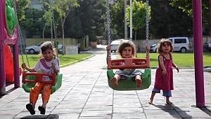 Haliliye'de parklar çocuklar için dizayn ediliyor