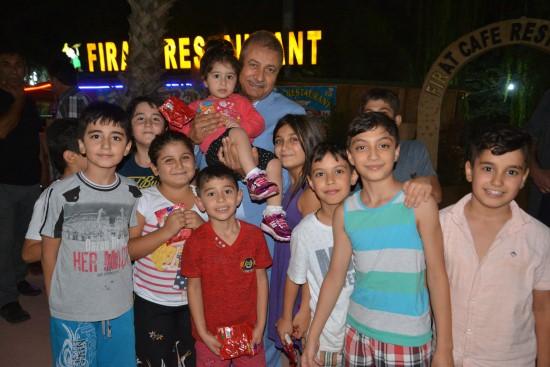 Pınarbaşı'na Sahil Park'ta sevgi seli