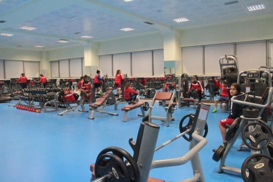 GHSİM fitness salonu halkın hizmetinde