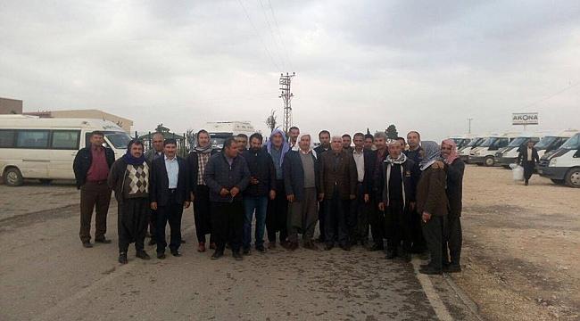 Karageçili Çamlıdere'de esnafı ziyaret etti
