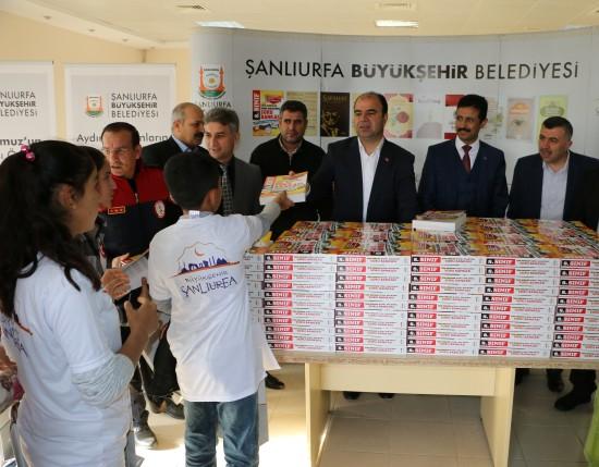 Şanlıurfa Büyükşehir Belediyesinden eğitime destek