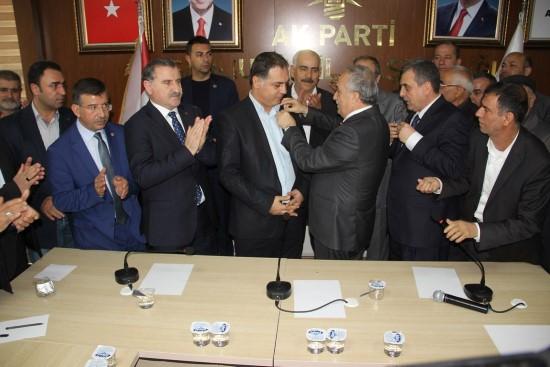 Şanlıurfa'da CHP'den ayrılanlar AK Parti'ye katıldı