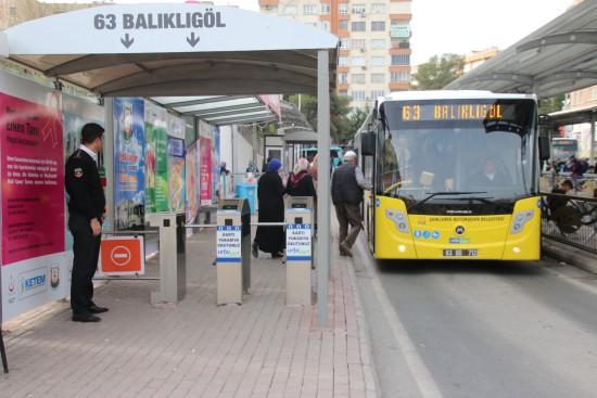Şanlıurfa'da otobüsler 24 saat çalışacak