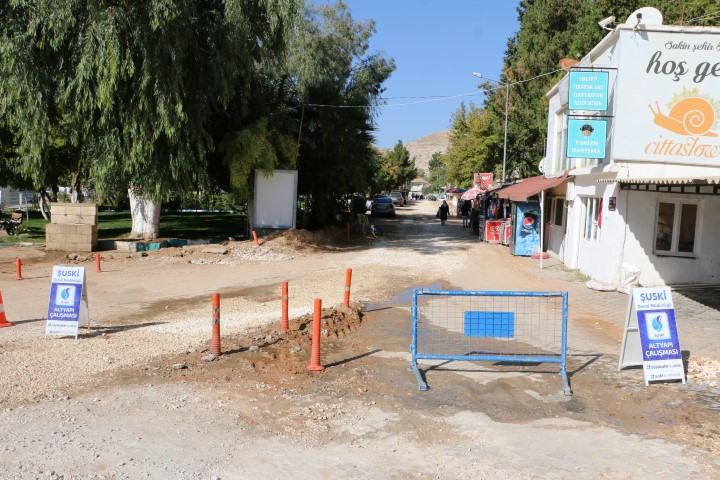 Şuski Halfeti'de alt yapı çalışmalarına devam ediyor