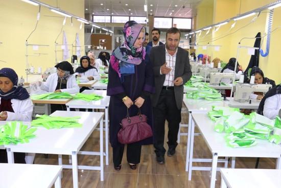 Akçakale'de üretilen kalemlikler okullarda dağıtılacak