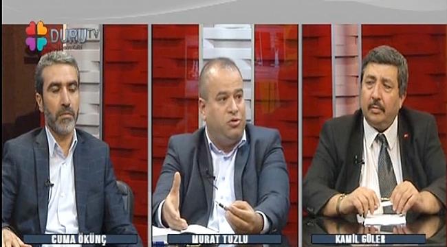 Tuzlu Duru TV'de Güler'in konuğu oldu (video)