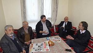 Gazetecilerden Güler'e ziyaret
