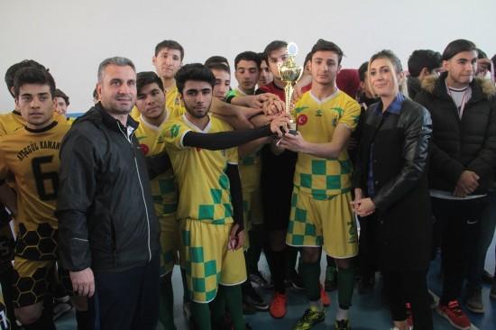 Futsal müsabakası sona erdi