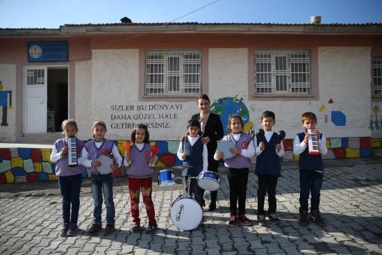 Köy okulunda