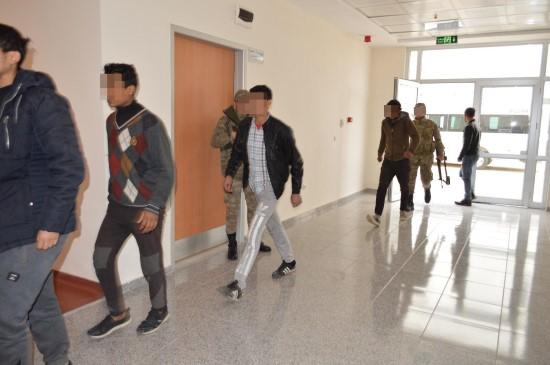 Şanlıurfa'da kaçak iş yerine operasyon