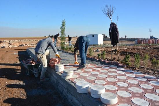 Atilla, Muratlı Parkı Çalışmalarını İnceledi