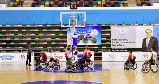 Basketbol takımı potada liderliğini sürdürüyor