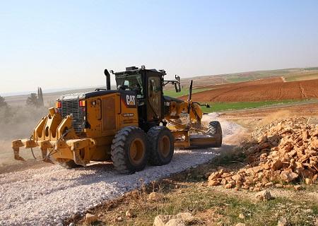 Haliliye Belediyesinden, 5 mahallede yol yapım çalışması