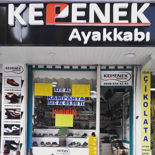 Kepenek Ayakkabıda kampanya