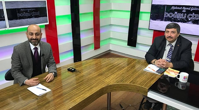 Ocakoğlu Duru TV'de Güler'in konuğu oldu (Video)