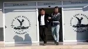 Sahte parayla dolandırıcılık yaparken polise yakalandı