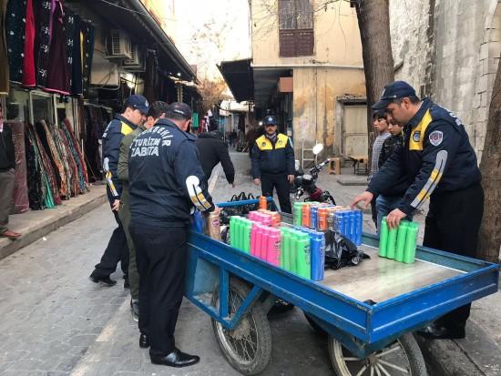 Sahte şampuanlar imha edildi