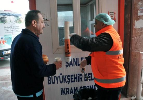 Şanlıurfa'da her gün 25 bin kişiye çorba ikramı