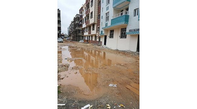 Aşırı yağış Hayati Harrani'de çamur deryasına döndü