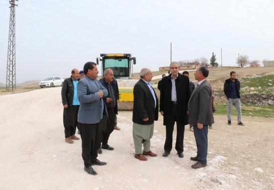 Demirkol, Gürpınar'daki yol yapım çalışmalarını denetledi