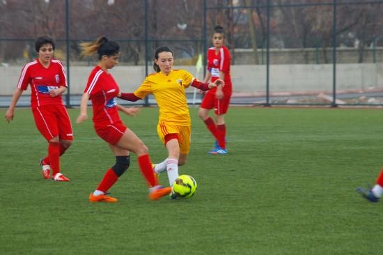 Şanlıurfa Gençlikspor: 0 Malatya Bayanlar Spor Kulübü: 0