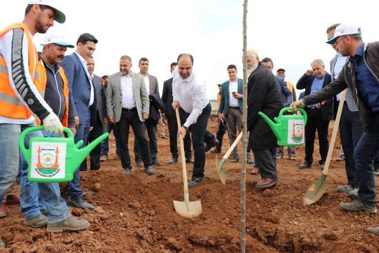 Çiftçi: Türkiye'nin en büyük yeşil alanını oluşturuyoruz